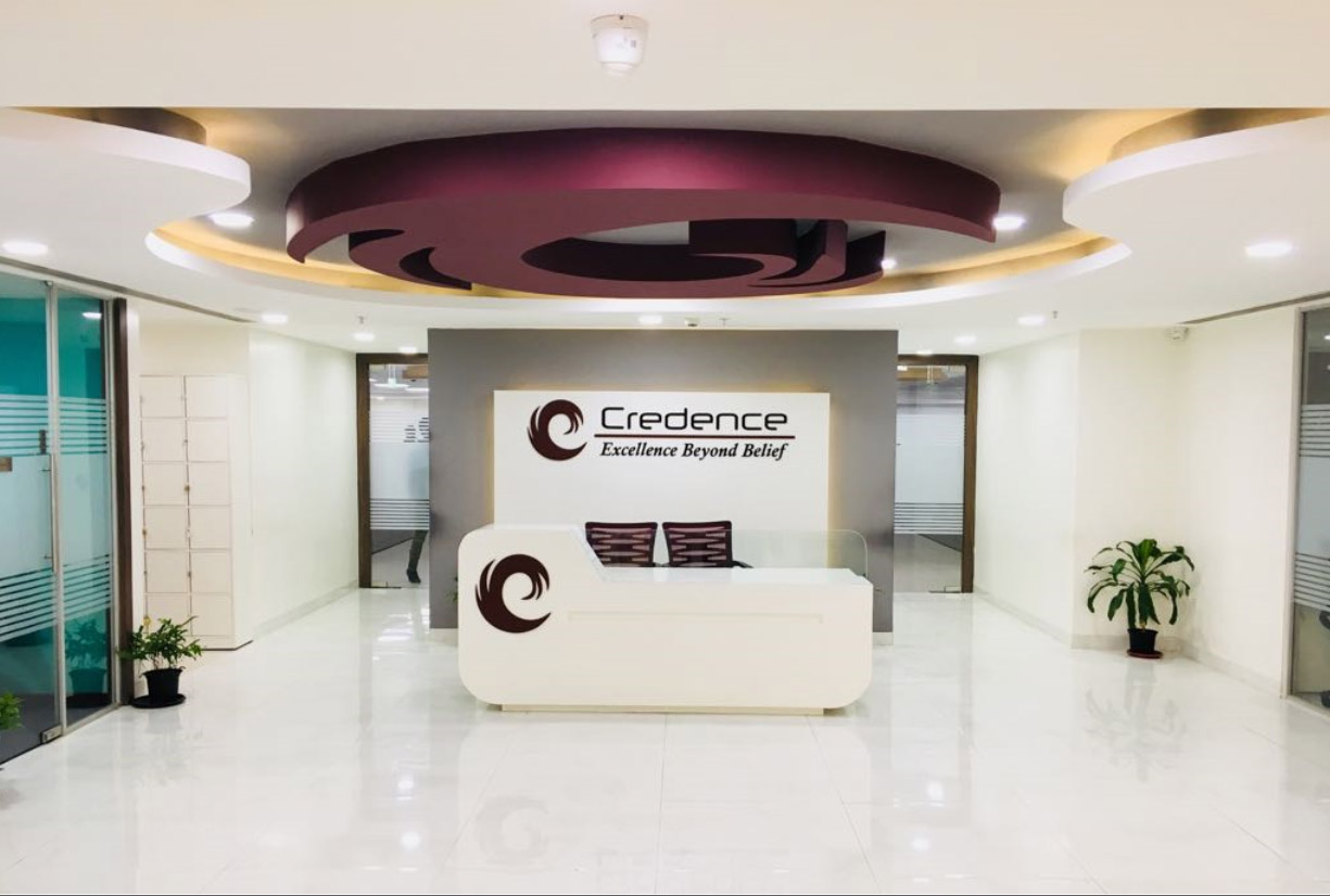 Credence Global Solutions front office.